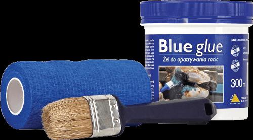 Зміцнюючий антібактерійний гель для копит Blue glue